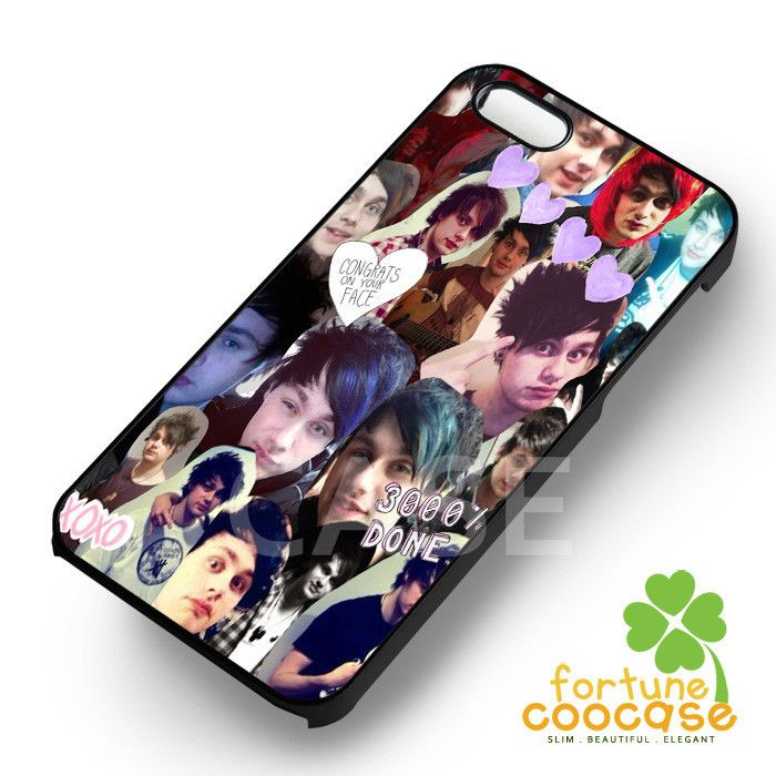 Michael Clifford Collage 5SOS - 21zzzz for iPhone 6S case, iPhone 5s case, iPhone 6 case, iPhone 4S, Samsung S6 Edge