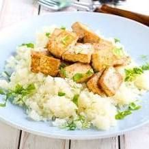Пюре из цветной капусты с сыром - KitchenMag.ru
