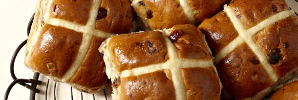 Gluten (wheat) free hot cross buns. These are the ones I am going to try! THESE ARE AMAZEBALLS!!!!!! I used maple syrup instead of honey and guar gum instead of xantham. Farout these are delish. The best wheat free recipe I've made yet!