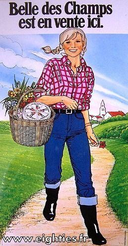 belle des champs fromage préfère de Sarah et la belle des trous celui de Marine !!!!