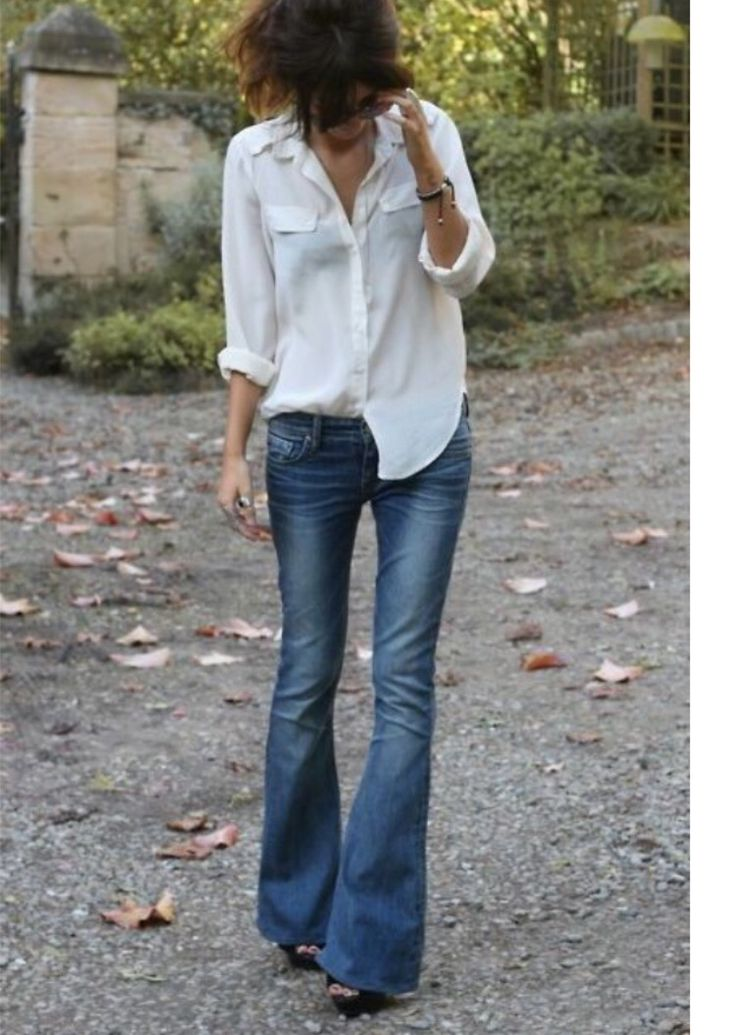 Jeans a zampa trend 2015