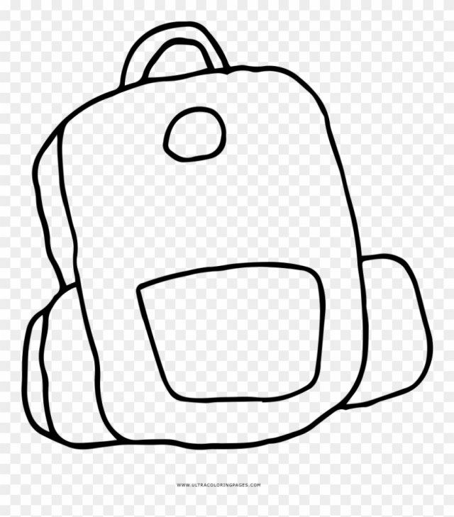 Beautiful Photo Of Backpack Coloring Page Coloring Pages School