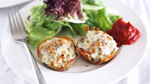 Turkey-Quinoa Cupcakes