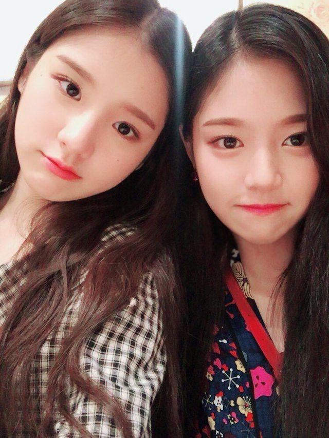 LOOΠΔ | Heejin, Hyunjin --- #loona #heejin #hyunjin #bbc | Gadis lucu,  Selebritas, Gadis