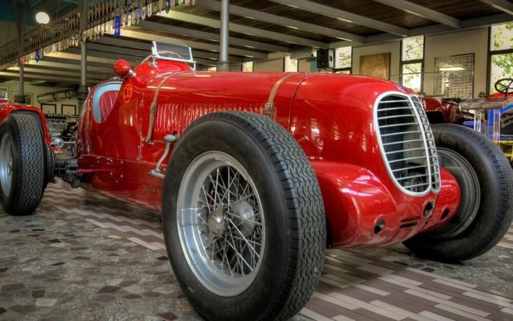 Twitter / @1step2theleft: Maserati Turns 100: Museo Panin Cars Collection [More Pics http://buff.ly/1usfgUw ]