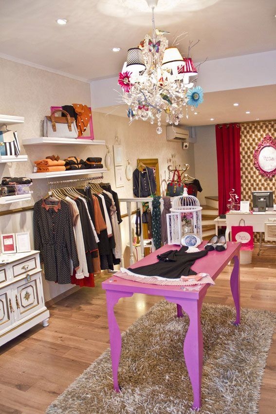 Such a cute boutique! It looks very cute and inviting!