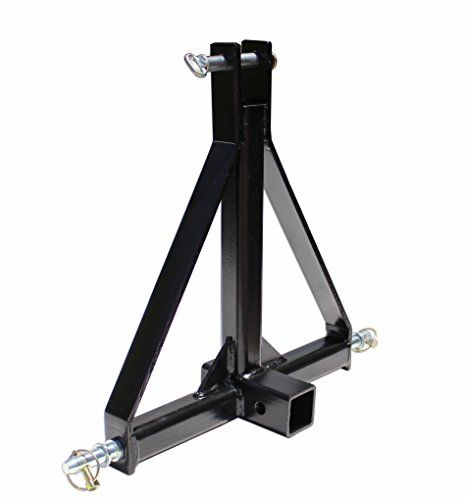 3 Point 2 Receiver Trailer Hitch Category 1 Tractor Tow Hitch Drawbar Adapter ** You can find more details by visiting the image link.