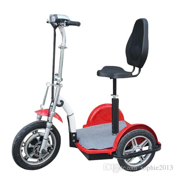 Hot selling powerful three wheel electric tricycle scooter for Motorized scooters for adults