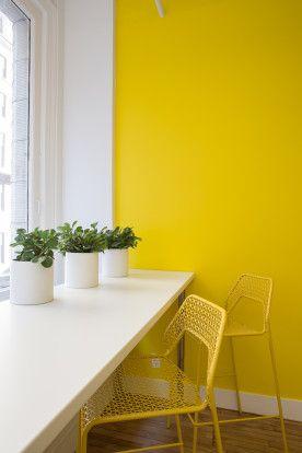25 best yellow accent walls ideas on pinterest grey - Yellow wall interior design ...