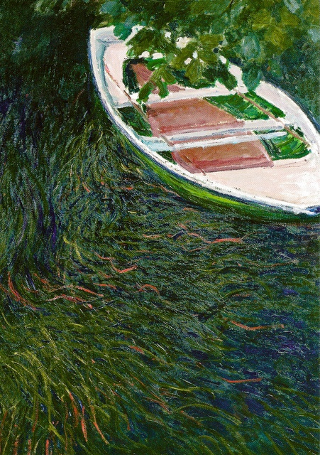 Claude Monet - The Boat, 1887 at Musée Marmottan Monet Paris France | Flickr - Photo Sharing!