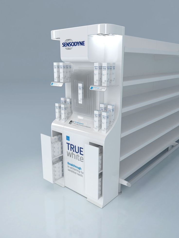 Sensodyne True White Display Unit Design on Behance