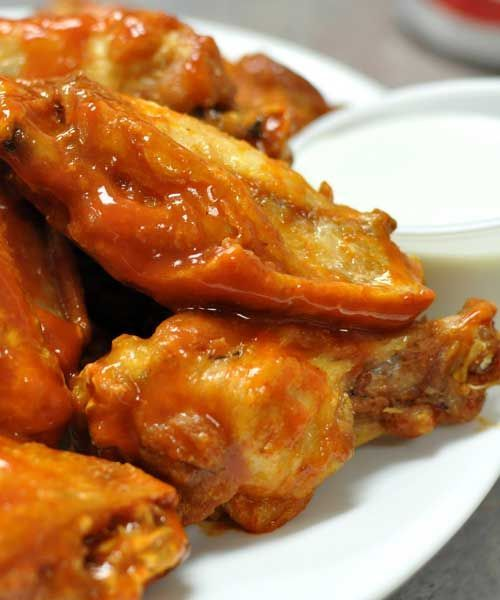 Recipe for Authentic Anchor Bar Buffalo Chicken Wings - This is the original spicy Buffalo chicken wings recipe from the Anchor Bar in Buffalo, NY. You can adjust the heat by adding more or less cayenne and Tabasco.