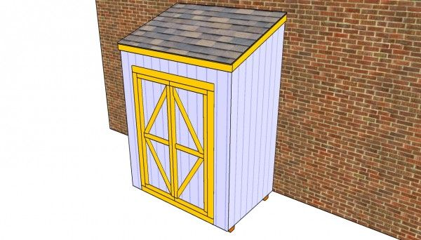 Free Lean To Shed Plans | Free Outdoor Plans - DIY Shed, Wooden Playhouse, Bbq, Woodworking Projects