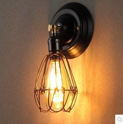 41.00$  Watch here - http://alid1v.worldwells.pw/go.php?t=32365038337 - 60W Retro Loft Style Vintage Wall Light For Home Industrial Lamp, Edison Wall Sconce Lamparas De Pared 41.00$