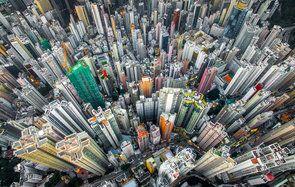 Энди Енг Дрон Фото Гонконг Городские джунгли
