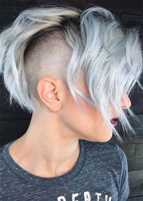 Rad Short Undercut Hairstyles 2018 for Women - Fashionre