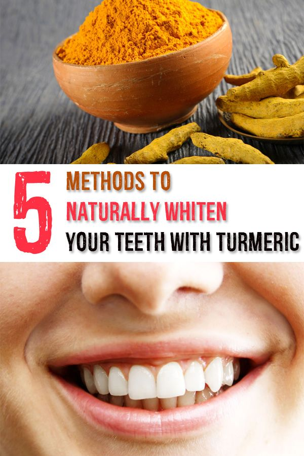5 Methods to Naturally Whiten Your Teeth with Turmeric - Beauty List