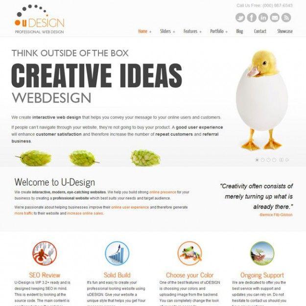 Thème WordPress U-Design