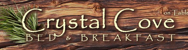 Crystal Cove Bed and Breakfast & Log Cabins Branson MO White River Suite