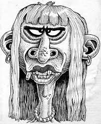 Basil Wolverton face