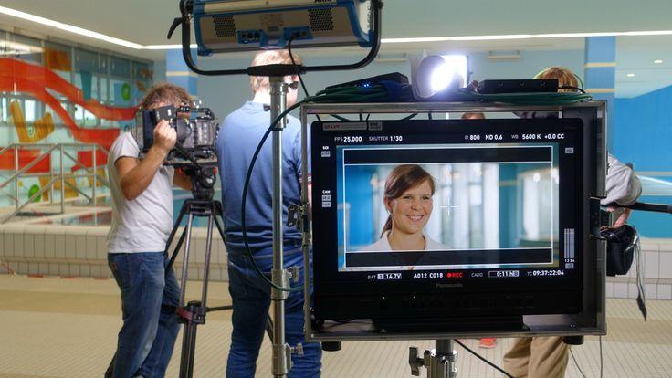 Filmdreh in der BG Klinik Ludwigshafen #Filmdreh #blacksparkdigital #digital #movie #teamwork #team