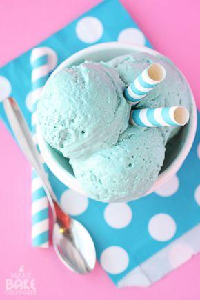 cotton candy ice cream.  no machine