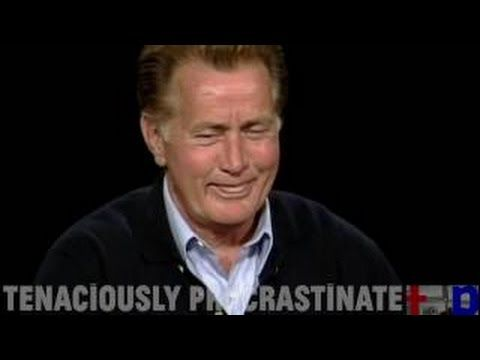 Martin Sheen interview on The West Wing on Charlie Rose (2002) - YouTube