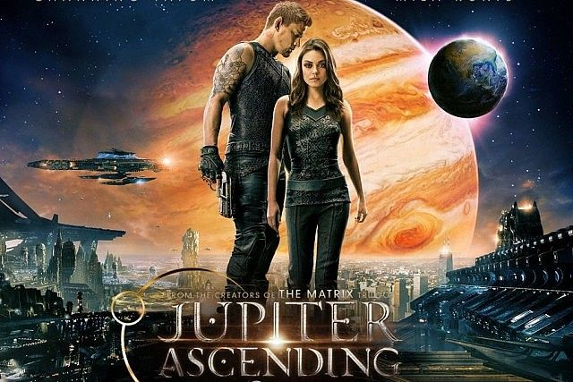 """Private lives and public personas -- a review of Jupiter Ascending"" by Elliott Burton // Muddled and incoherent film could be an allegory for consumerist culture or for transgender visibility."