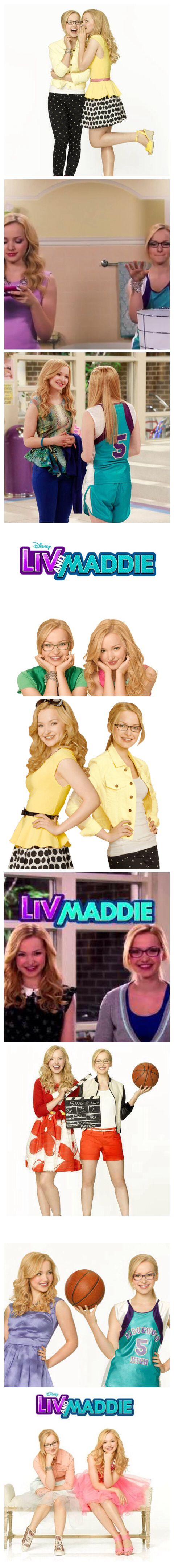 Liv and Maddie photo strip