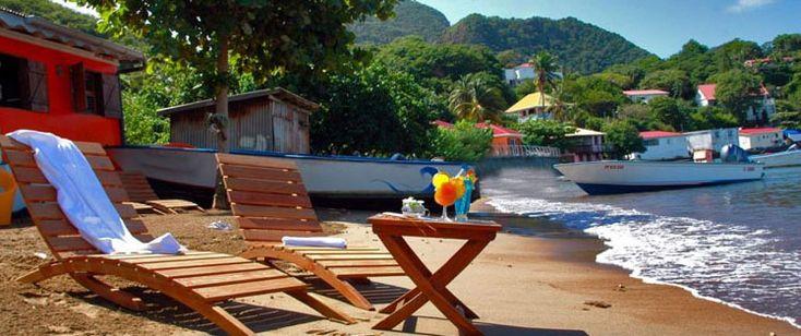 Les Saintes' beaches, Guadeloupe, French Caribbean | Lô Bleu Hôtel, les Saintes, Guadeloupe