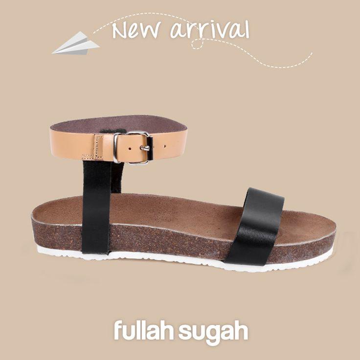 Δερμάτινα footbed σανδάλια | 24461073 #fashion #sandals #trends #fullahsugah #fullah_sugah #shopping