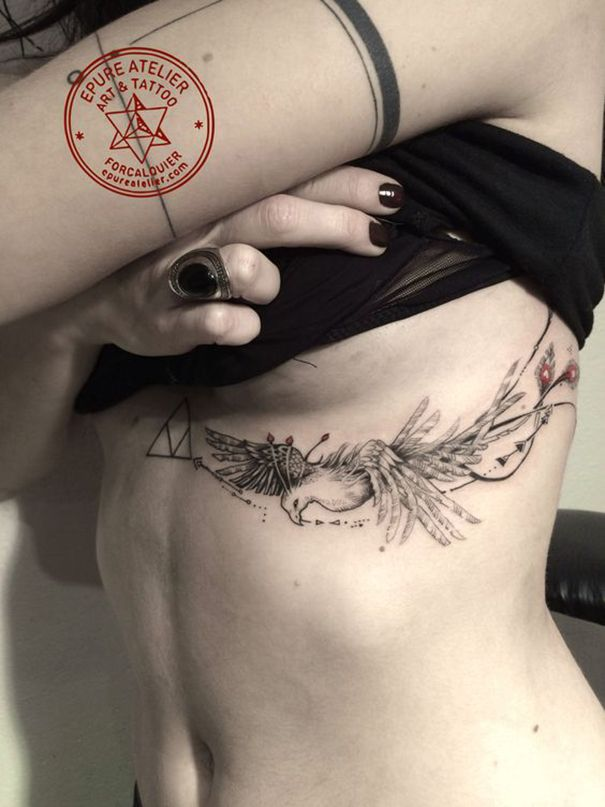 The Phoenix, a bird from Greek mythology is a symbol of rebirth and regeneration. So, if you have a never-say-die attitude and pick yourself up every time you fall down, it's only apt that you read further about these masterpieces in tattoo art, inspired by the phoenix. These top ten phoenix tattoos are sure to have you thoroughly inspired.