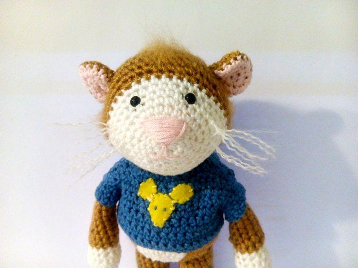 tupcio chrupcio, myszka szydełko, mouse crochet