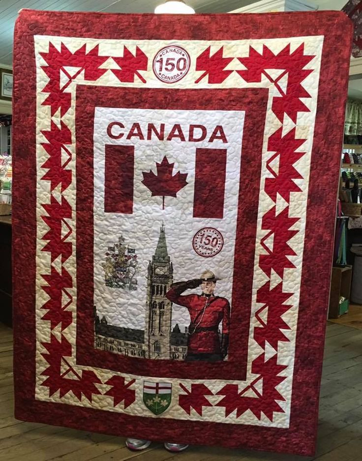 Image result for canada 150 quilt