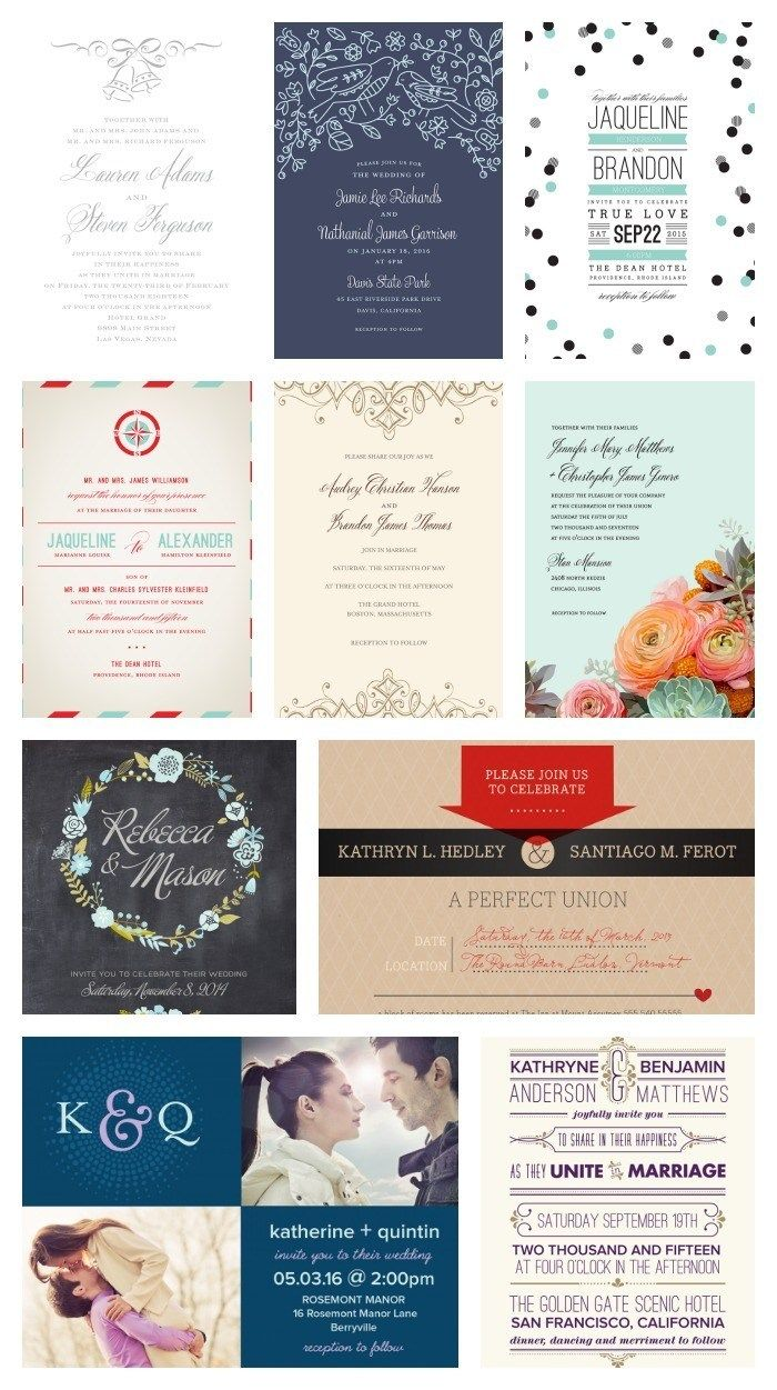 Wedding Invitation Kits Invitation Kits Wedding Invitations