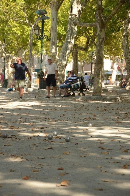 Petanque - sport in France