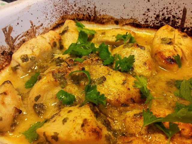 Madlaboratoriet: Kylling i honning-citrusmarinade med persille