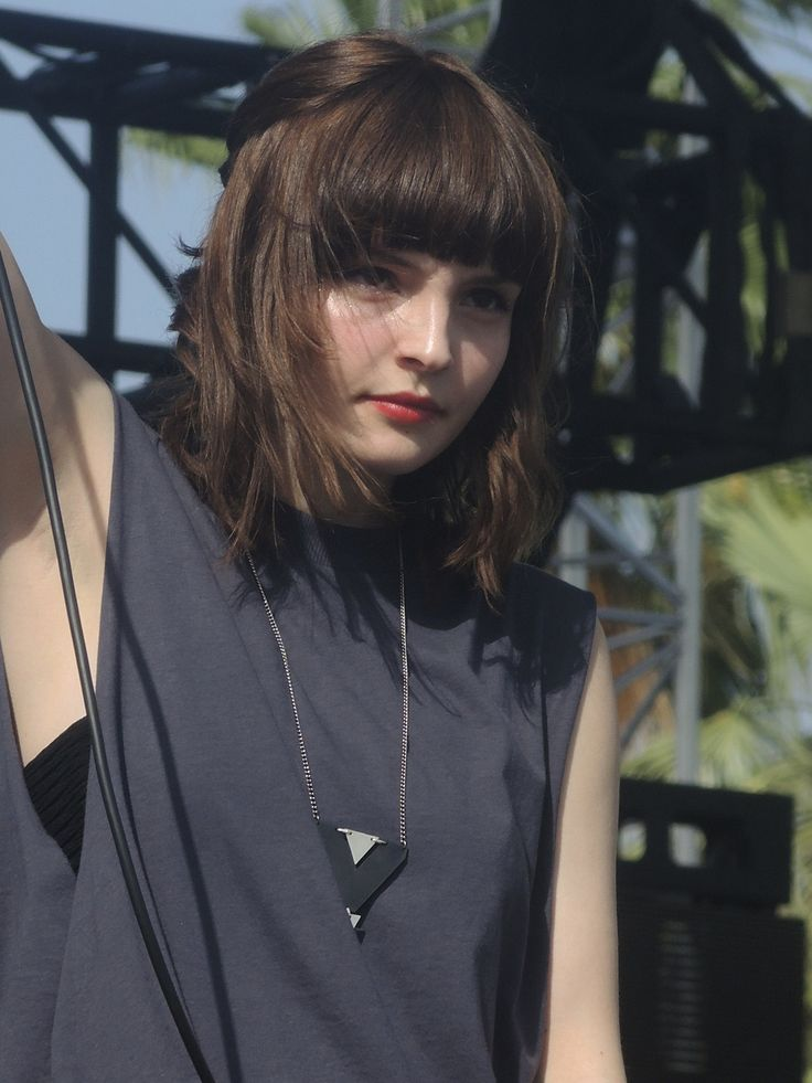 CHVRCHES at Coachella.