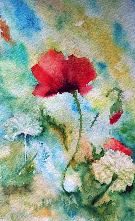 Printable art watercolor by Tsvetilena Bochukova digital