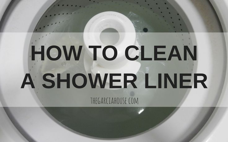 can you wash a shower liner in the washing machine