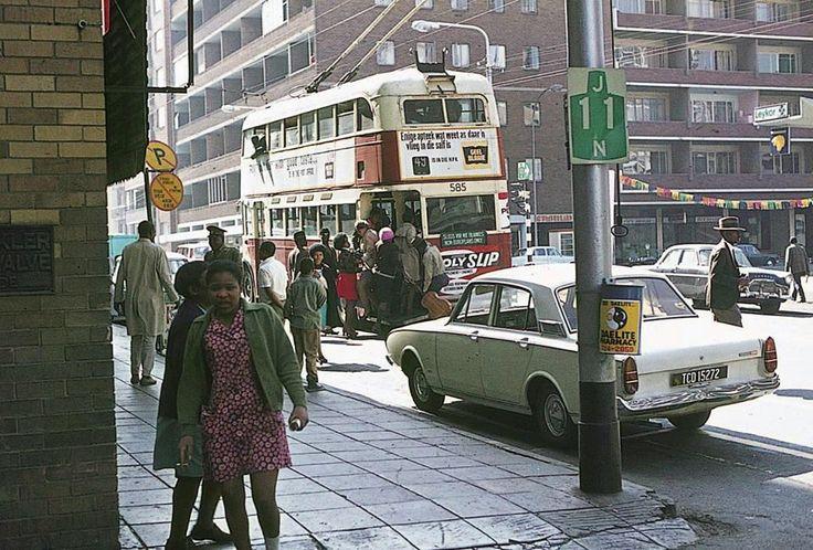 Corner of Kotze & Klein sts, Looking towards Pretoria Street