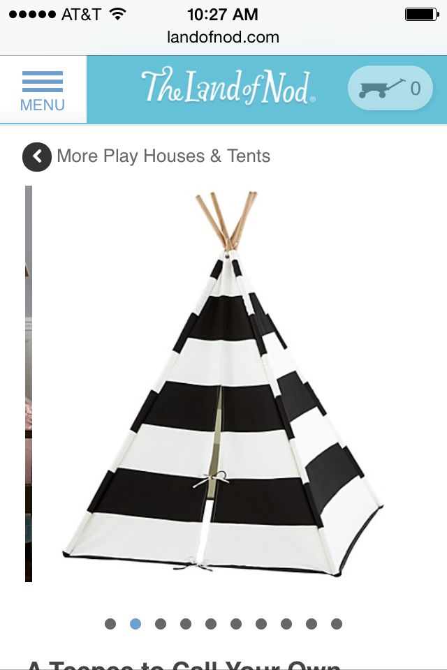 A play tent for Ava.