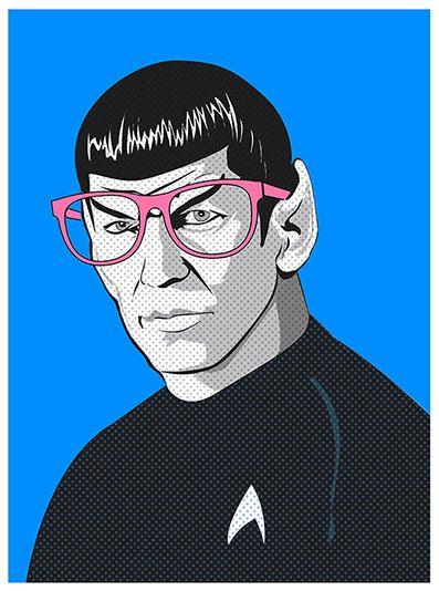 Spock pop art