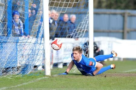 FOOTBALL - Bury Town v Enfield Town
