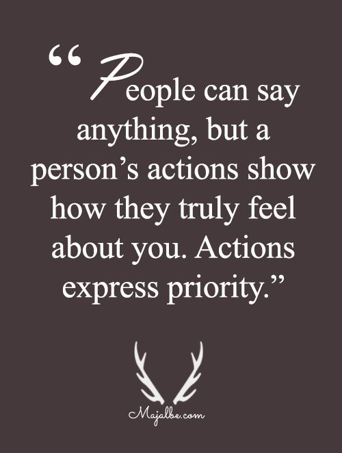 Actions Express Love Love Quotes