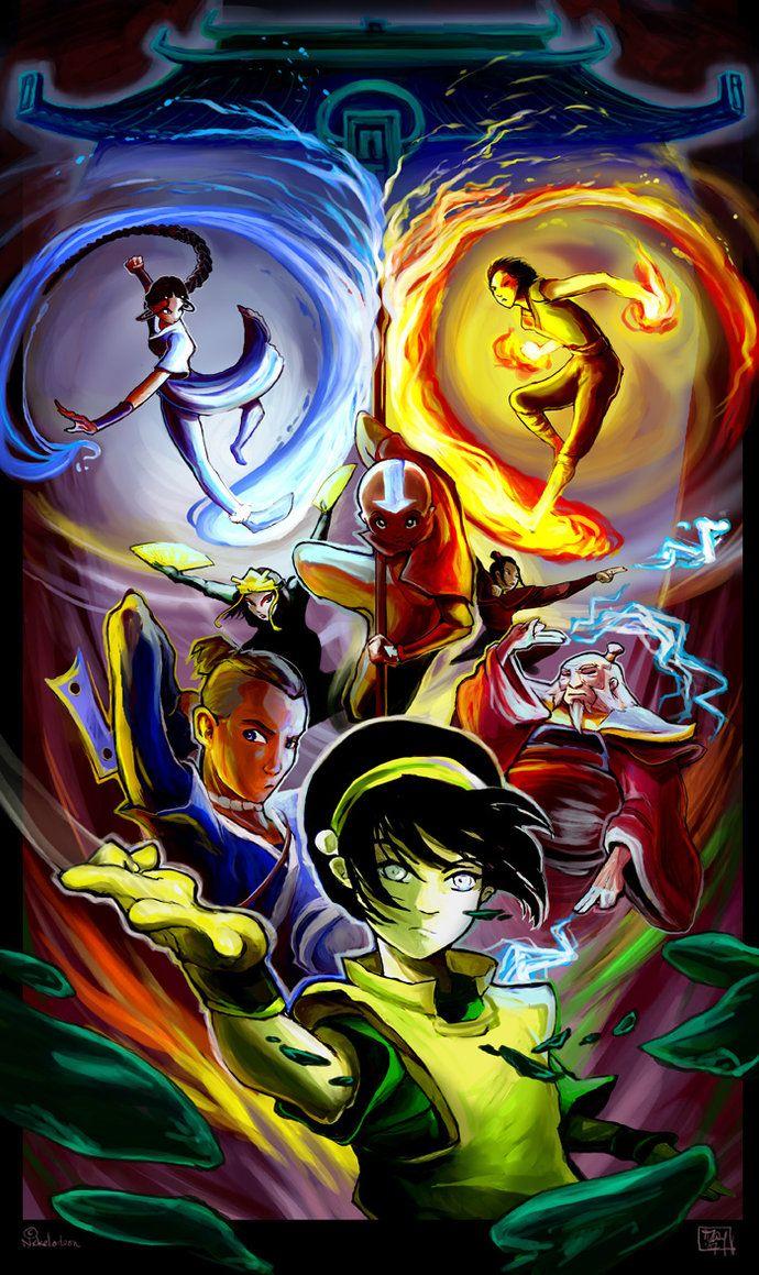 Avatar fanart by http://ming85.deviantart.com: Fan Art, Air Bender, Atla Lok, Avatar The Last Airbender, Avatar Fanart, Thelastairbender, Avatar Legend, Airbender Legend, Team Avatar