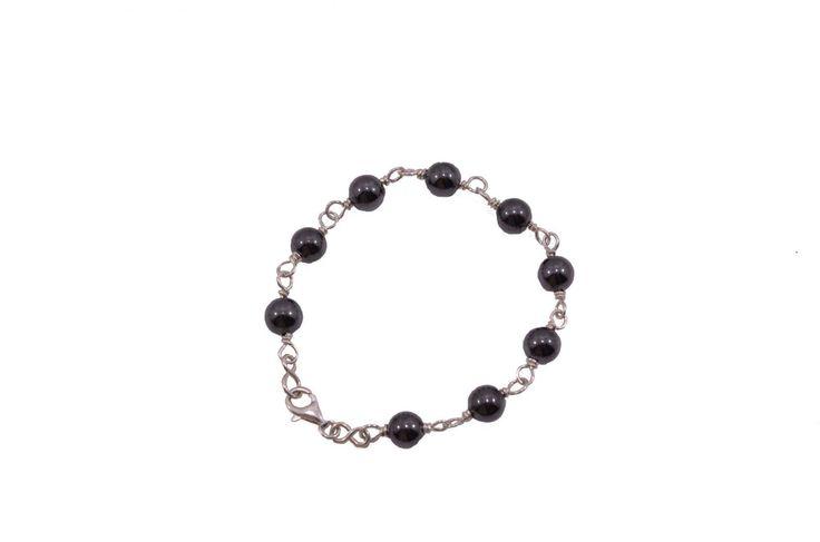 Βραχιόλι με αιματίτη - Bracelet with himatite