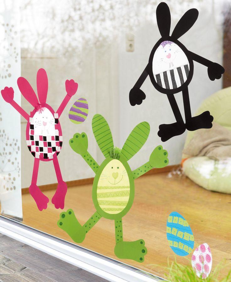 17 ideen zu fensterbilder basteln auf pinterest deko ideen osterbasteln mit kindern und. Black Bedroom Furniture Sets. Home Design Ideas