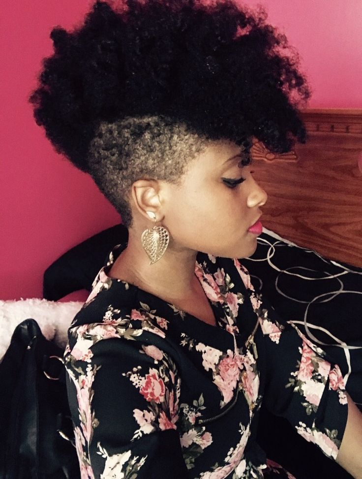 Tapered Natural Hair/Undercut