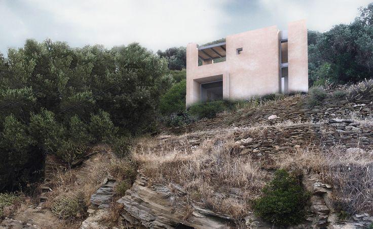 Andros House II - Achilles Kalogridis architecture